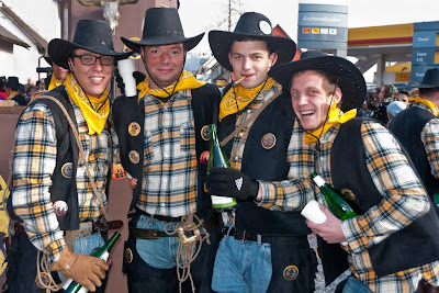 Die Rhiiwald-Cowboys vom FC Neuenburg