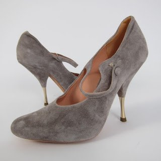 Rocas Suede Mary Janes