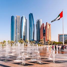 Abu Dhabi by Eduard Andrica - City,  Street & Park  Vistas