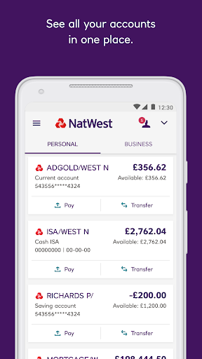 NatWest Mobile Banking  screenshots 1