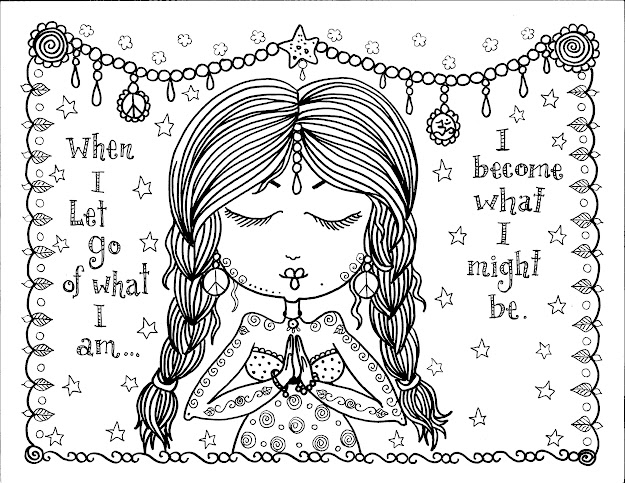 Coloring Pages  Let Go Of What Am
