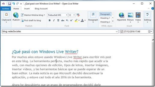 live-writer