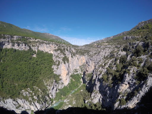 Une vue imprenable sur les gorges du Verdon