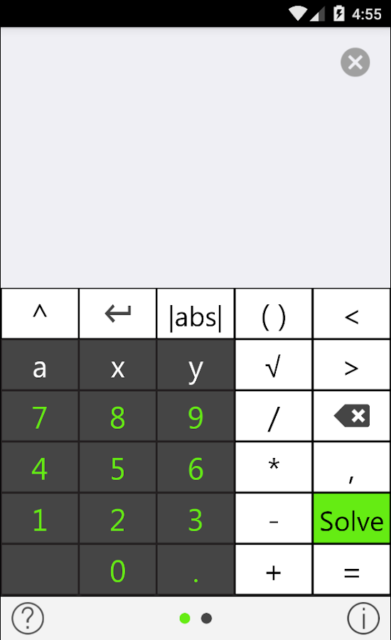 Tiger Algebra Solver- screenshot