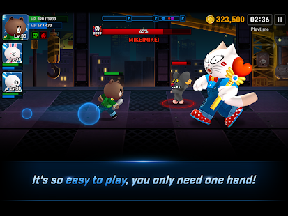 LINE FIGHTERS- screenshot thumbnail