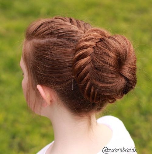 The Trendy Bun Hairstyles For Casual And Formal In Current Year 2017 9