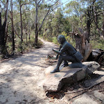 Bronze sculpture of Charles Sturt (201520)