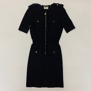 Rena Lange Merino Wool Zip Dress