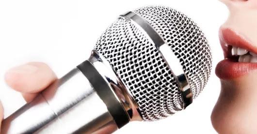 aprender a cantar microfone