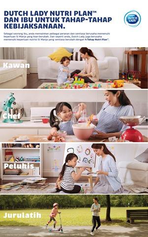 DUTCH LADY 4TAHAP NUTRI PLAN™ Membantu Mommy Di Dalam Penerokaan Iman Firash!