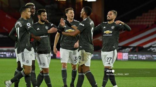 HASIL Liga Inggris Sheffield vs MU, Brace Rashford & Umpan Manja Pogba Warnai Kemenangan Setan Merah