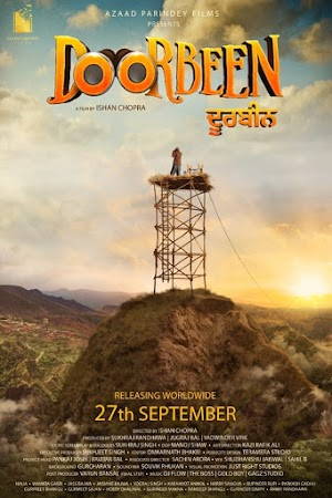 Poster Of Pollywood Movie Doorbeen 2019 300MB HDRip 480P Full Punjabi Movie