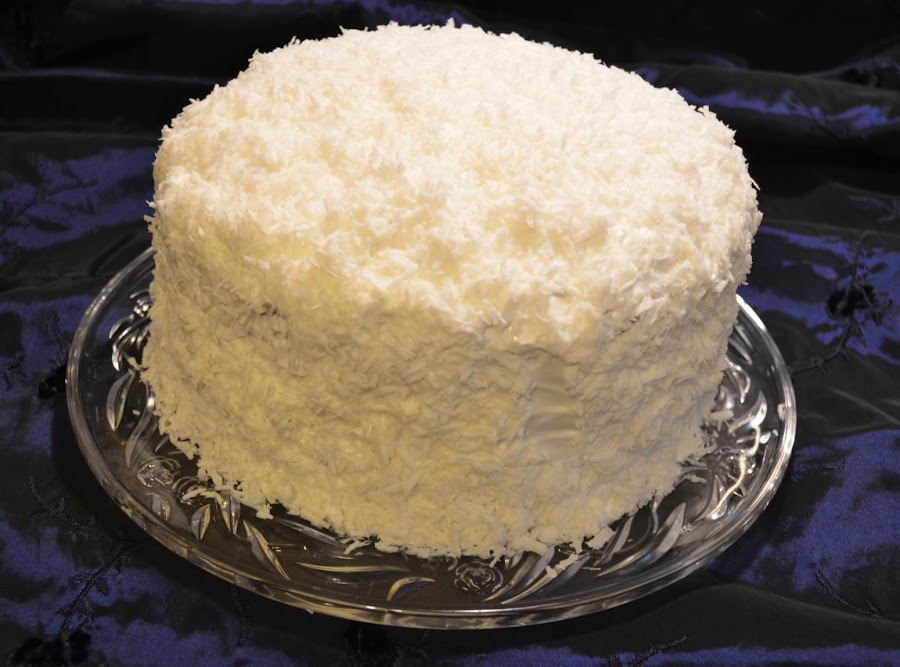 Granny 39 s famous coconut cake recipe just a pinch recipes for Granny pottymouth bakes a vegan cake