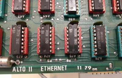 "One problem I encountered was termination resistors R8 and R9 appeared on the schematic but were missing from the board (above the word ""ETHERNET"")."