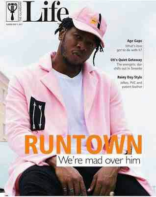Runtown covers Guardian Life Magazine
