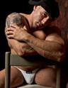 Muscle Hunk JockButt Quentin Ellis