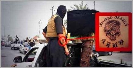 membros dos estados islamicos tatuagens