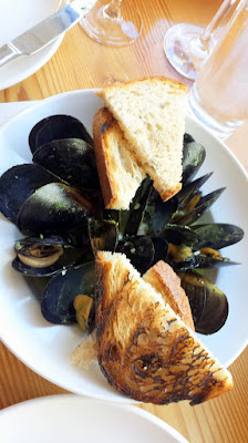 Mussels with Garlic and Parsley at Nel Centro, available at lunch, happy hour, and dinner