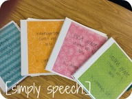Simply Speech Binders