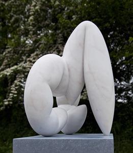 Clinch: PORTUGUESE MARBLE, 2011; W50 cm H48 cm D29cm: £4,000