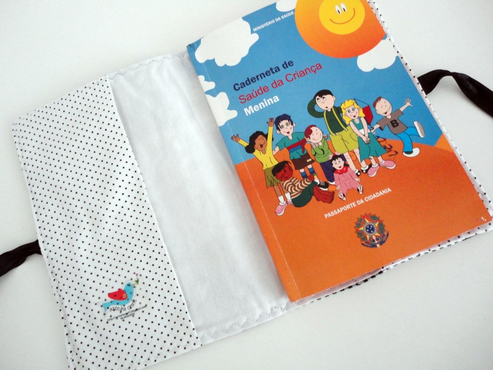 Populares Capa para caderneta de vacinas - Roteiro Baby GH86