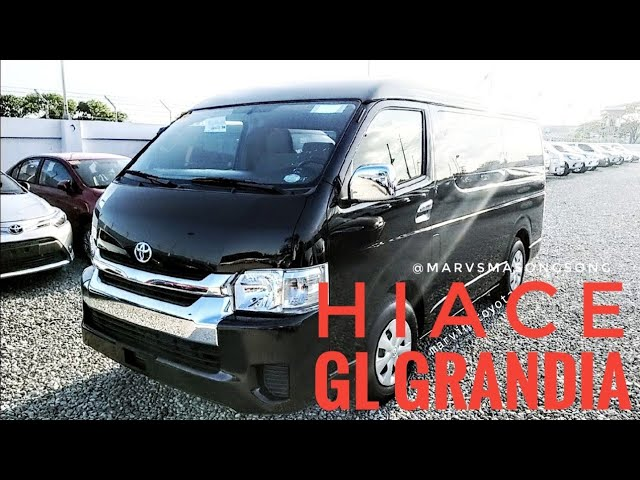 VIDEO: #ToyotaHIACE GL Grandia 3.0L #DieselENGINE | #BlackMICA (#Philippines)