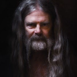 The beauty of age by William Kauffman - People Portraits of Men ( age, men, wisdom mistery, man )