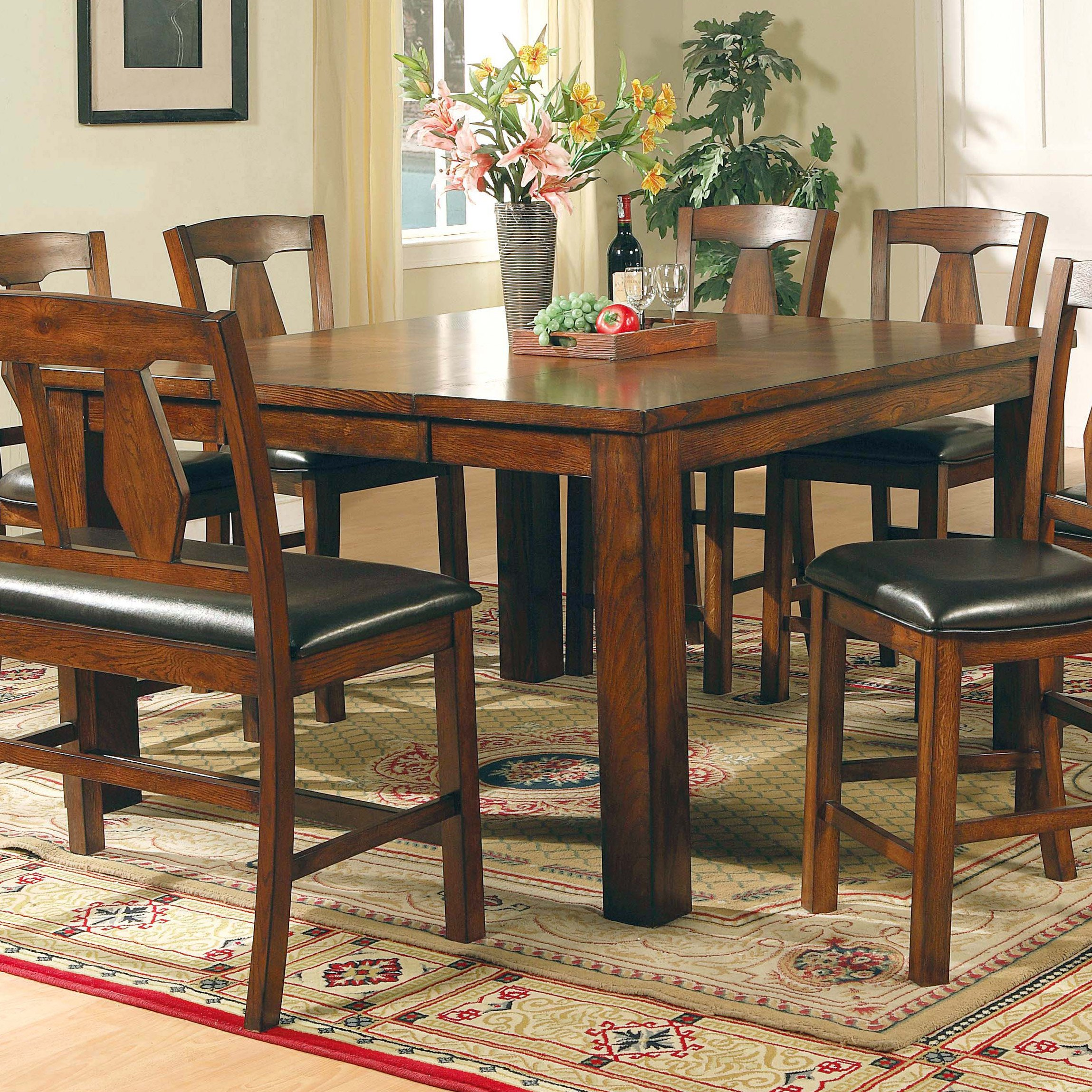 counter height dining set room furniture table sale cabinets b