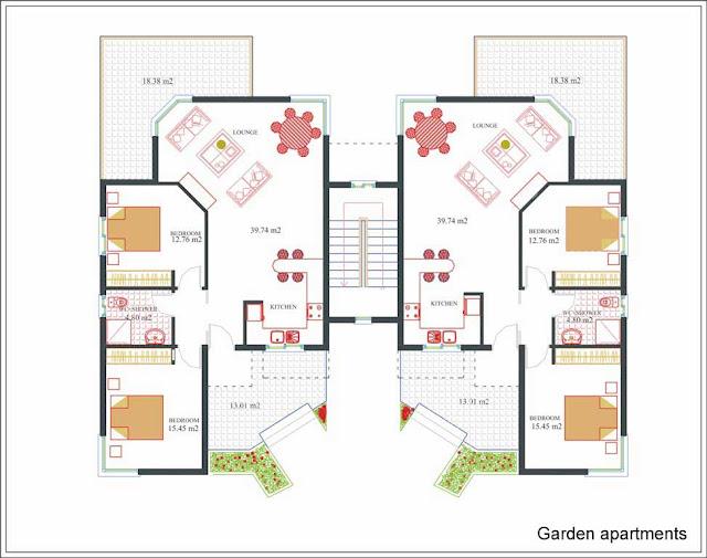 Cool Apartment Plans