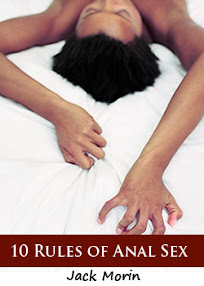 Cover of Jack Morin's Book 10 Rules Of Anal Sex