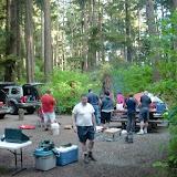 Base camp at Mora Campground