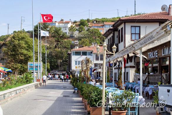 Bursa, Trilye sahilindeki balık restoranları