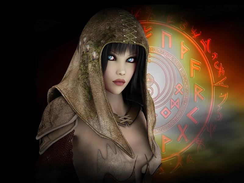 Fantasy Spells Girl, Magic And Spells