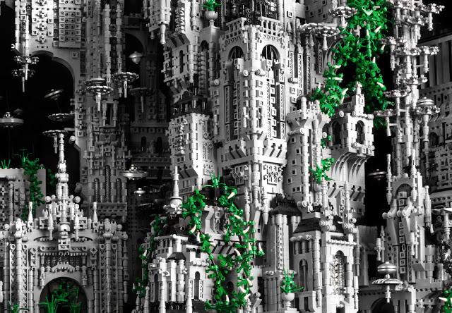 *樂高師Mike Doyle的LEGO奇幻科技堡壘:和平接觸外星人! 2