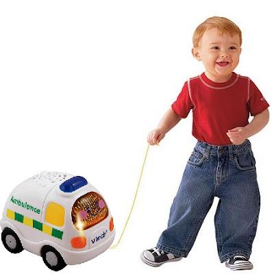 Xe cứu thương phát nhạc Vtech cho trẻ từ 1-5 tuổi