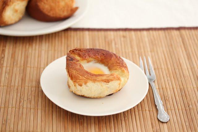 Eggs in Rolls