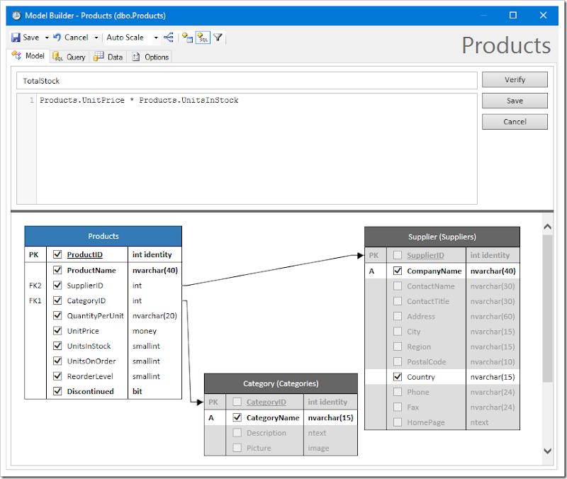 Adding a custom SQL formula field to the data model.