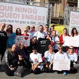 2015 Escolesnuria Caminata Solidaria Sant Joan de Déu. Hem recaptat 250 € per la investigació de mal