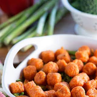 Vegetarian Sweet Potato Puff Casserole.