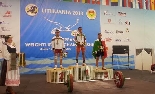Pesistica - Tre bronzi per Fabio Arcara agli Europei Under 17