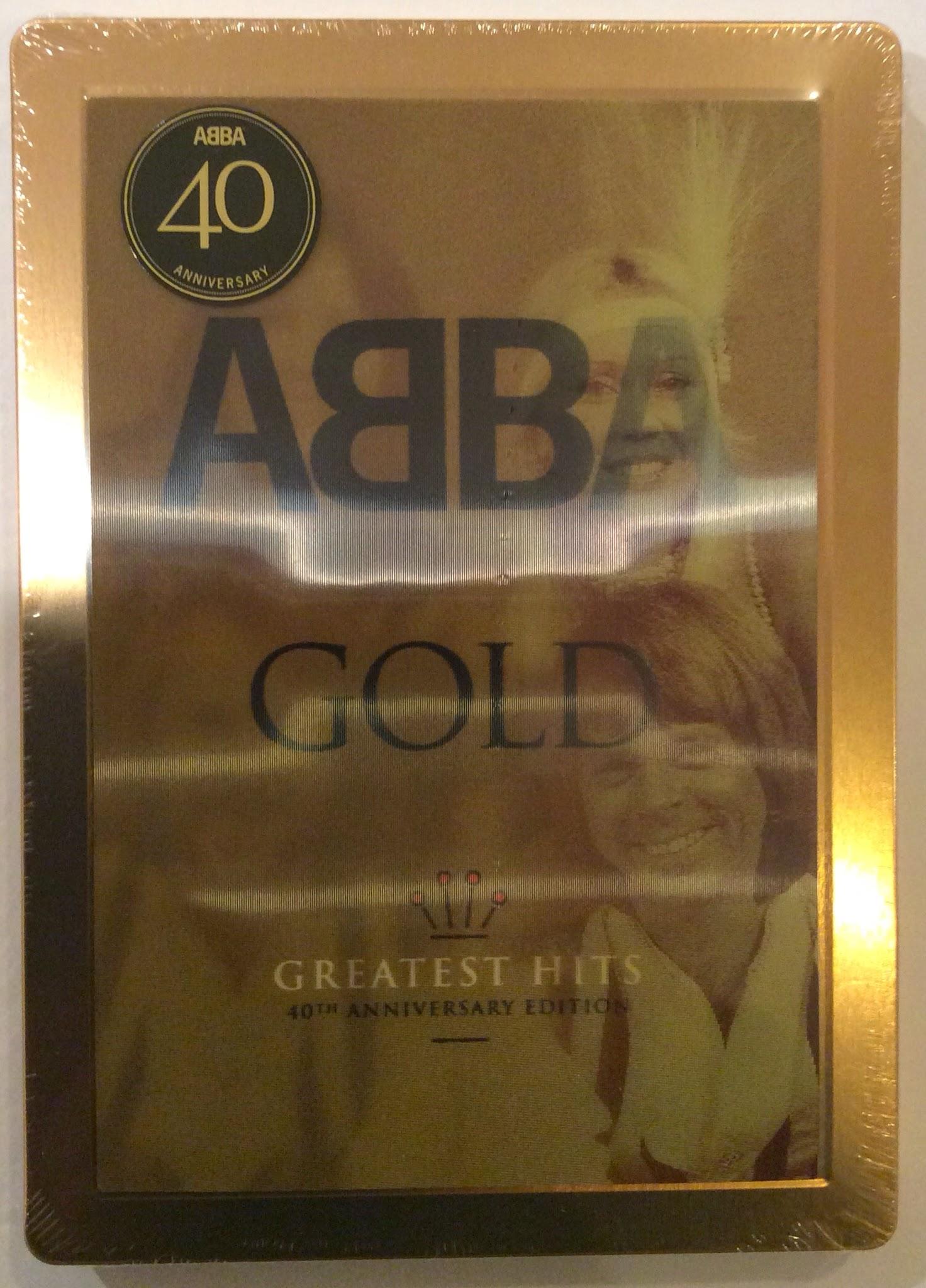 abba 40 år ABBA Fans Blog: Abba Gold 40th Anniversary Steelbook Edition abba 40 år