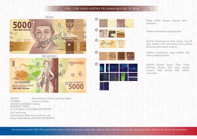 uang NKRI baru Rp5000