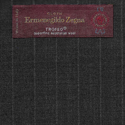Cloth Ermenegildo Zegan Trofeo Winter Anzug