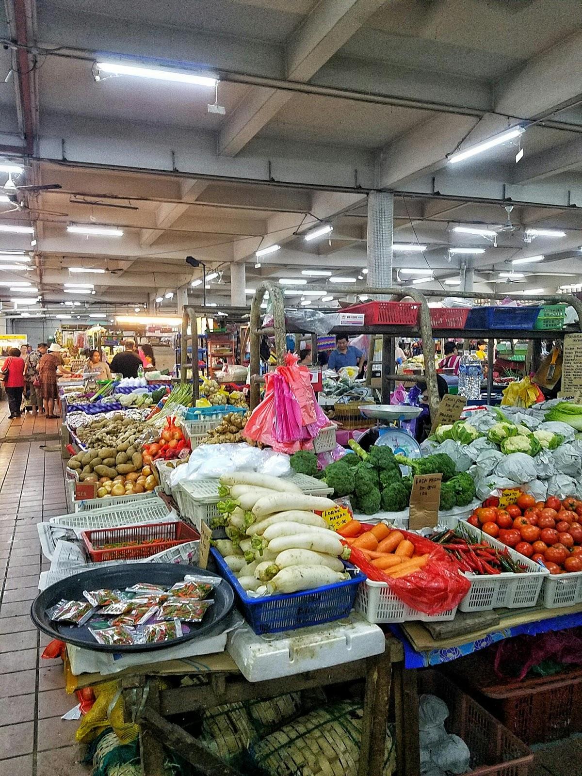 market groceries asia malaysia sabah kota kinabalu
