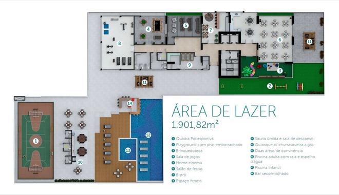 Área de Lazer