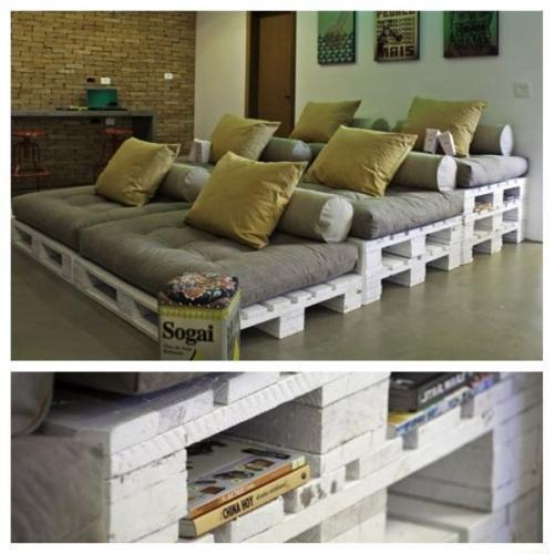 Europaletten Couch Selber Bauen Wohn Design