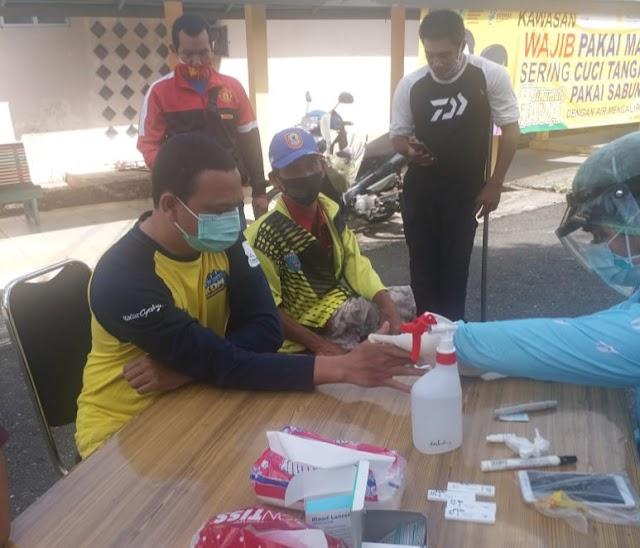 Pastikan Kondisi Atlet Pelatprov, Semua Paralimpian Kalsel Wajib Rapid Test