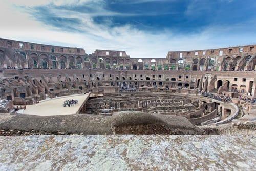 Coliseum Rome interior
