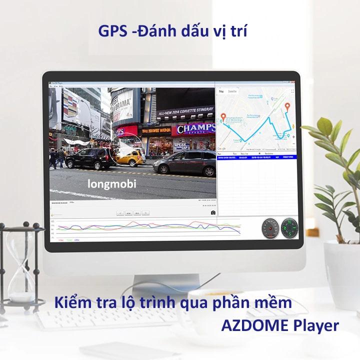 camera hanh trinh 4k azdome g63d