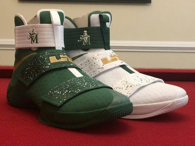 d76f17cfe246 First Look at Nike LeBron Soldier 10 Home amp Away PEs ...